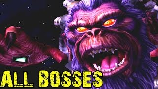 Star Fox Adventures - All Bosses (No Damage)