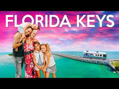 FLORIDA KEYS - Road Trip to The Keys! FAMILY TRAVEL VLOG