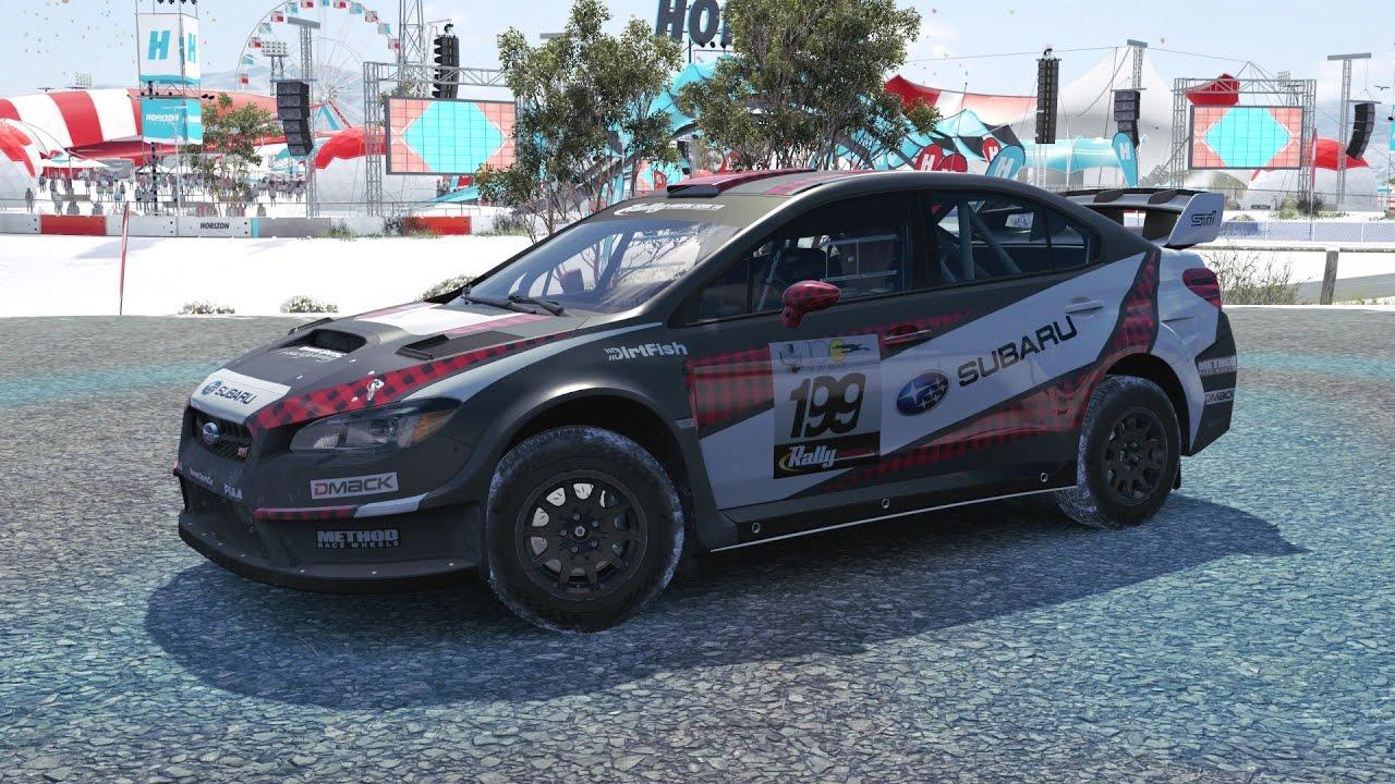 Forza Horizon 3 2016 Subaru 199 Wrx Sti Vt15r Rally Car