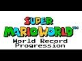World Record Progression: Super Mario Wo