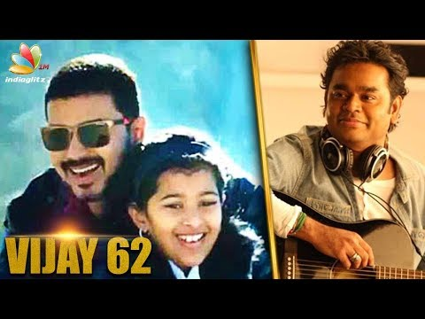 Vijay's daughter Divya Saasha to debut in Thalapathy 62?   A.R. Murugadoss