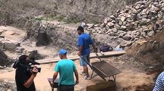 Разкопките до Централна поща в Пловдив