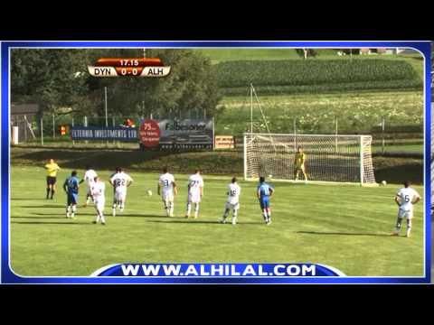أهداف مباراة الهلال 3 - 0 دينامو كييف - مباراة ودية 2014