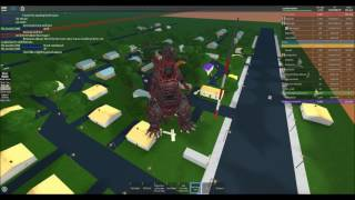 Roblox: Storm Chasers - 2.5 mile wide, 318 MPH tornado and Godzilla with EF5 combined on PS:R!