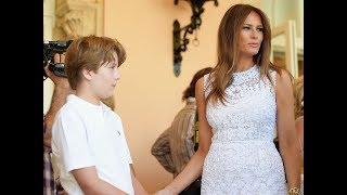First Lady Melania & Barron Trump Moving to the White House on June 14