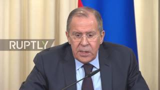 Russia: Lavrov slams US allegations that Russia supplied weapons to Taliban thumbnail