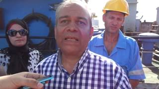 قناة السويس الجديدة: المهندس محمود صقرنائب كراكات الهيئة نحتاج 15كراكة
