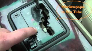 Symbole w automatycznej skrzyni biegów - co oznaczają ? Poradnik motoryzacyjny