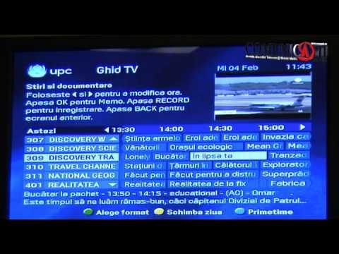 Demo Ghid Tv Upc Romania Youtube