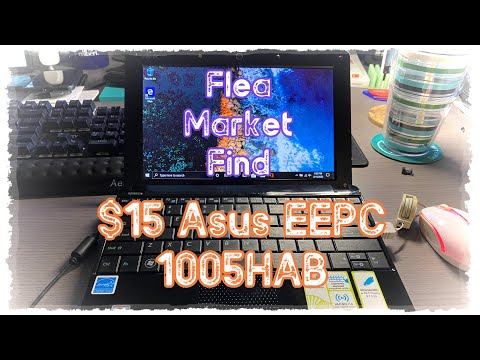Flea Market Find! $15 Smoker's Asus EeePC 1005HAB