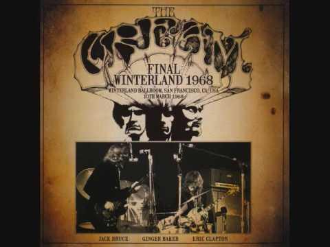 Cream- Winterland Ballroom, San Francisco, Ca 3/10/68