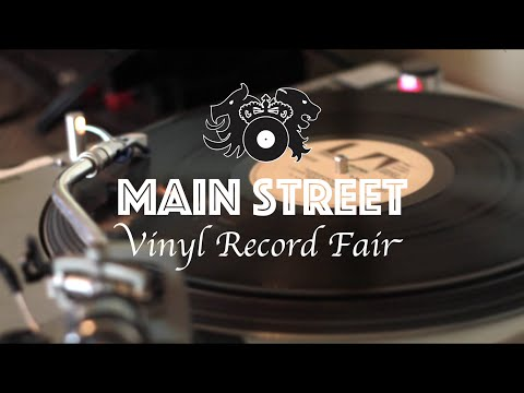 Main Street Vinyl Record Fair in Vancouver, BC
