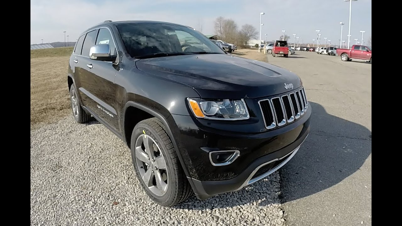 2015 Jeep Grand Cherokee Limited Black New Jeep