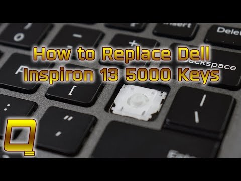 How To Replace Dell Inspiron 13 5000 Laptop Keys