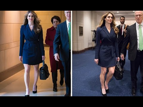 8e54b5a64a4e Hope Hicks dons dress to House Intelligence Committee - Hot Girl ...
