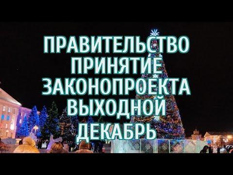 Автор законопроекта рассказал, станет ли 31 декабря выходным уже в этом году