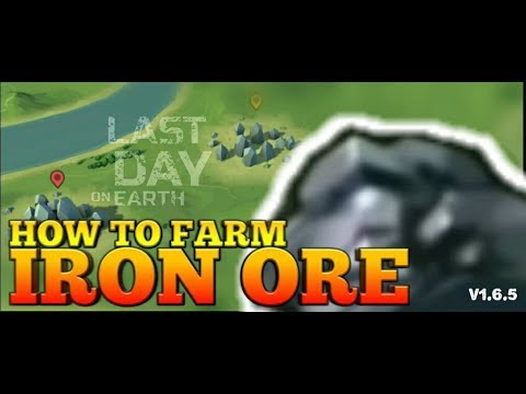LDOE: HOW TO FARM IRON ORE | Last Day on Earth Survival v1.6.5 #36