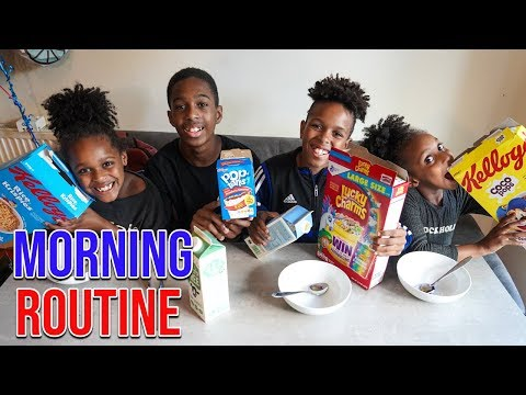 Morning Routine FAMILY of 8!