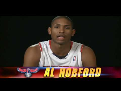 AL Horford talks about the NBA D-League Showcase (Jan. 5 -8, 2009)