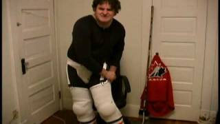 How To: Put on Hockey Equipment