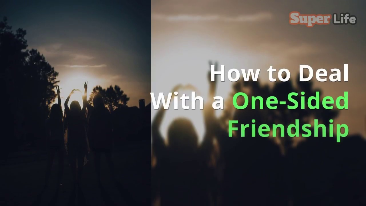 How to Deal With a OneSided Friendship images
