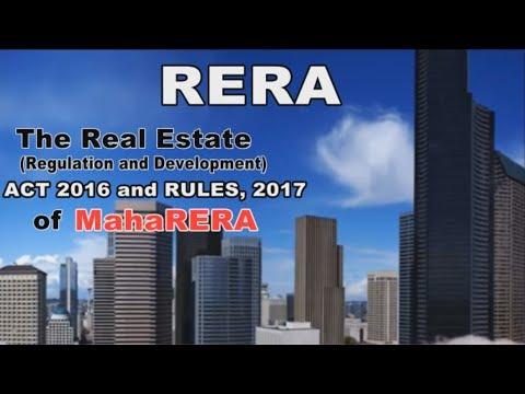 RERA Act 2016 and MahaRERA Rules 2017 explained by Housing Guru Ramesh Prabhu