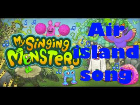 My singing monsters - Air Island Song (High Quality Sound)