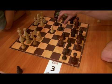 WGM Rogule Laura - FM Arturs Bernotas, Catalan opening, rapid chess