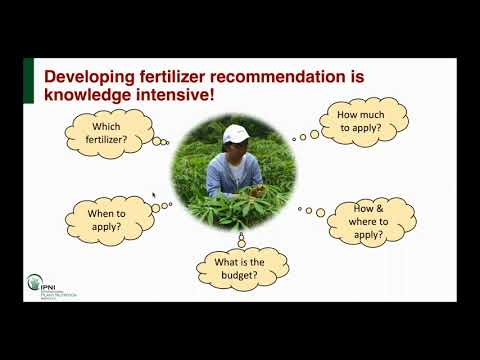 Making Reliable Fertilizer Recommendations Quick and Easy wi