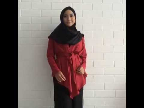 Wrap Cardigan Tutorial 2.0 - YouTube