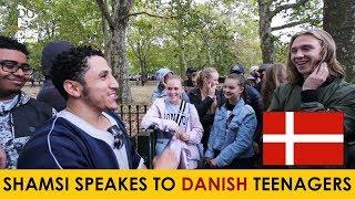 Shamsi Gives Dawah to Young Danish and Turkish People