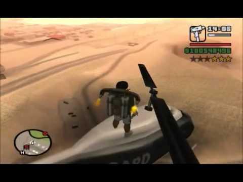 GTA San Andreas Special Movie: Police Maverick Fun