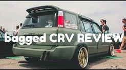 Insane BAGGED 1998 Honda CRV Review - Ruby