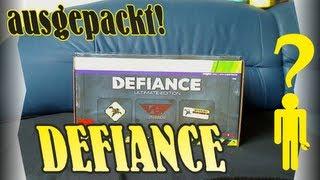 Ausgepackt! Defiance Ultimate Edition Xbox 360 - Unpacking Deutsch HD