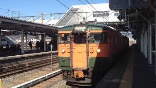 しなの鉄道115系 s25編成 篠ノ井駅発車
