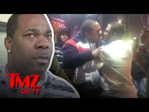 Louie Cruz - WATCH: Busta Rhymes Involved In Street Scuffle