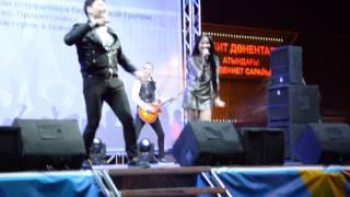группа Формат в г.Аксу на гала-концерте песня Махаббат (29.04.2015)