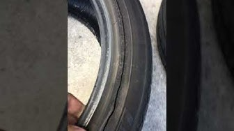 Landsail Tires Review. Danger!! The Tires Shop discover an unusual ripping on the inside walls.
