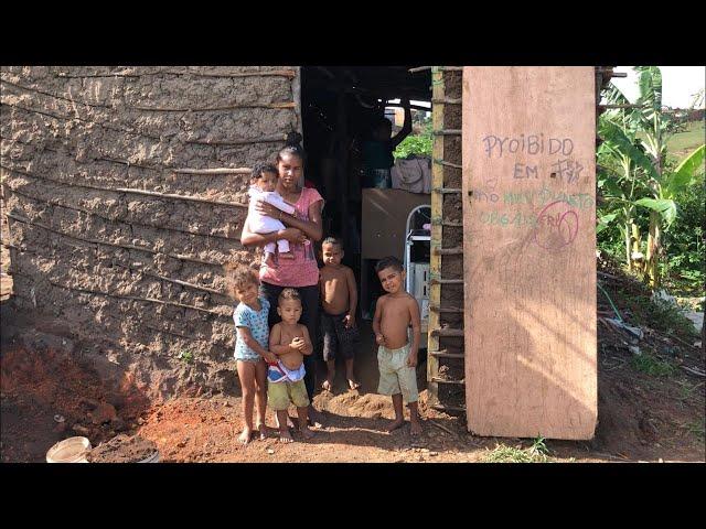 MÃE DE 5 FILHOS PASSANDO FOME EM ITAMBÉ, PRECISA DE SOCORRO URGENTE!
