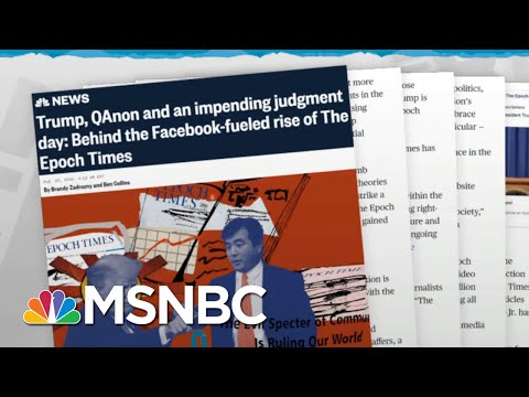 Pro-Trump Conspiracy Theories Pay Off For Anti-China Group | Rachel Maddow | MSNBC