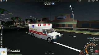 Tenzin911 Gioca Roblox - Ultimate Driving Westover: EMS