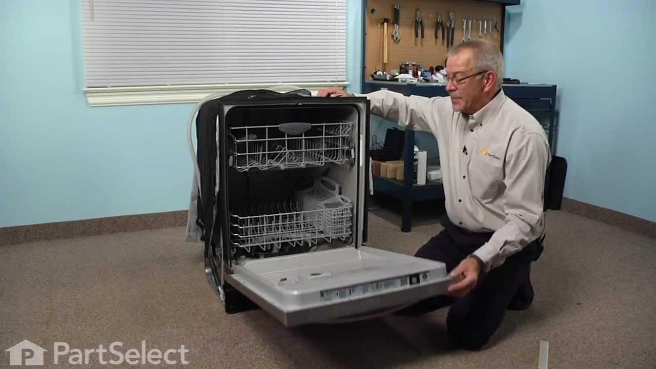 Dishwasher Repair Replacing the Bottom Door Gasket