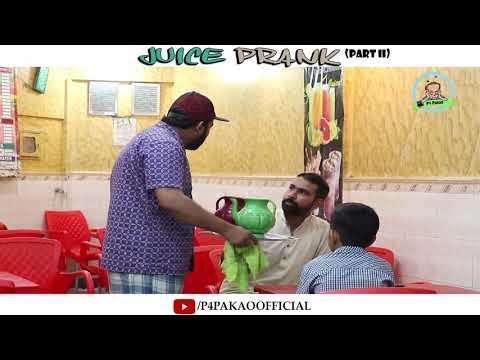 | Juice Prank Part 2 | By Nadir Ali & Asim Sanata In | P4 Pakao | 2018