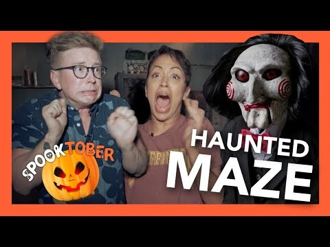 Haunted Maze with Liza Koshy
