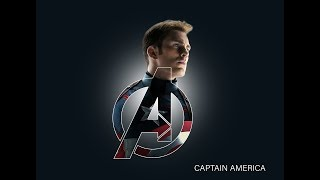 The Avengers logo with Captain America poster in Photoshop  [Tutorial]