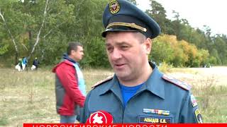Звезда «Уральских пельменей» приехала убирать пляжи Новосибирска