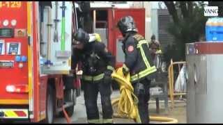 Susto por un incendio en Ciutat Vella