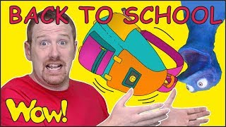 Back to School Story for Kids from Steve and Maggie with Bobby | Free Stories Wow English TV