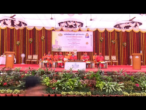 SPPU-112th Convocation-20 Jan 2018