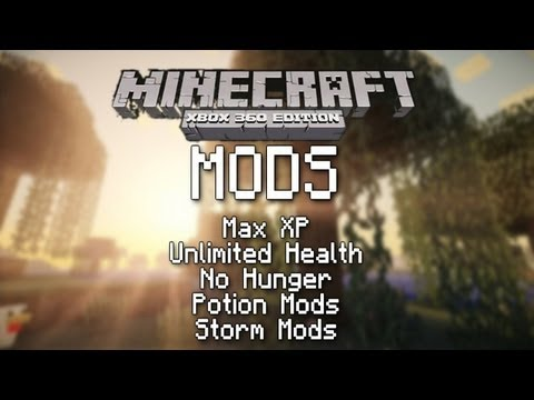 How to Mod Minecraft Xbox 360 With a USB - EASY!